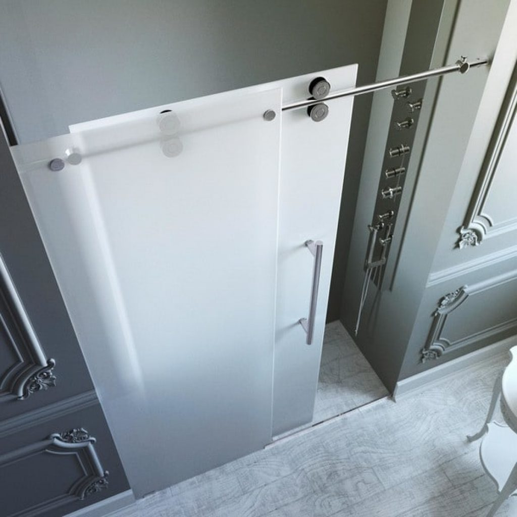 How To Make Frosted Glass Shower Doors Stain Free Hottub Net