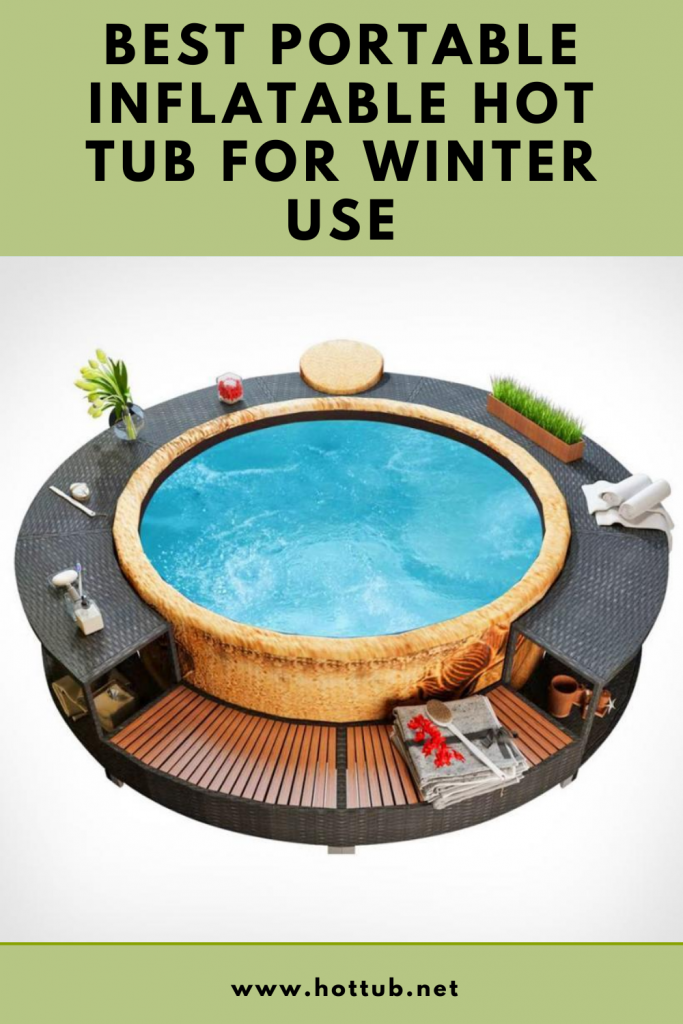 Inflatable Hot tub for Winter