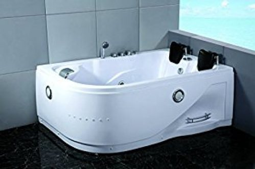 2 Person Indoor Hot Tub Massage Bathtub Hydrotherapy SPA (052A White)