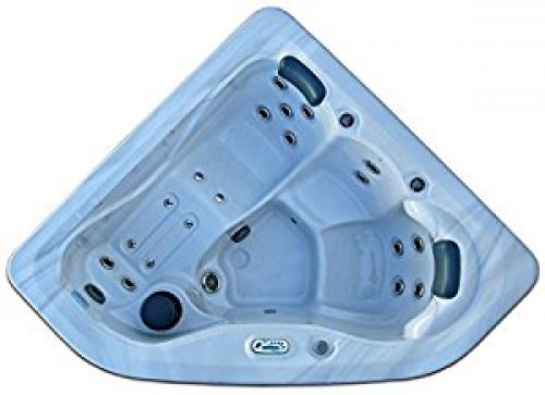 3 Person Corner Spa Hot Tub Signature Brand - 2 HP Pump - 27 SS Jets - 110v - 20...