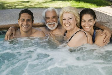 4 Person Inflatable Hot Tubs