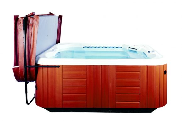 How Does Hot Tub Cover Lift Work?