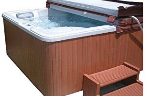 Outdoor Hot Tubs Deals: Highwood Flex Corner Spa Cabinet Replacement Kit, Redwood