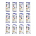 Best Filters & Filter Media: Intex Filter Cartridge Type A (59900E) – Replacement Type A and C For Easy Set Pool Filters – 12 Pack