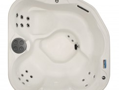 Outdoor Hot Tubs Deals: Lifesmart 400DX 5-Person Rock Solid Plug and Play Spa with 19 Jets Plus Bonus Waterfall Jet and Free Super Energy Saving Value Package