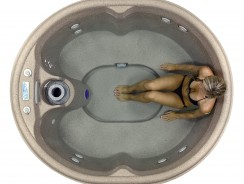 Outdoor Hot Tubs Deals: Lifesmart Rock Solid Luna Spa with Plug & Play Operation