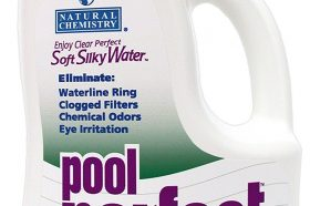 Cleaners & Chemicals: Natural Chemistry 3121 Pool Perfect Concentrate Pool Water Cleaner, 3-Liter