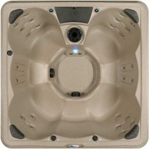 Spa Plug n Play 6-7 Person Hot Tub - LEDs in Shell + Underwater
