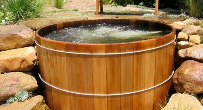The Earthy Essence With Wooden Hot Tubs